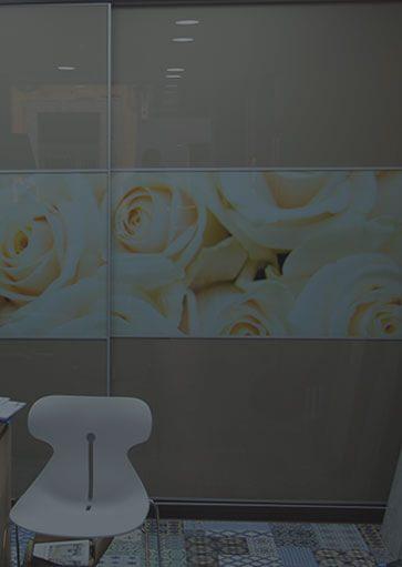 mueble de cocina armario flores