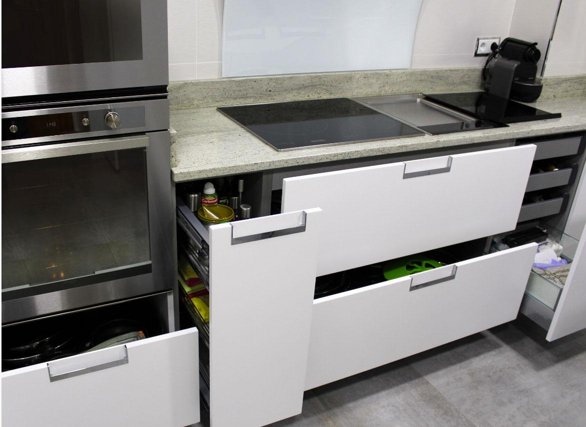 cocina moderna sanvi detalle cajones