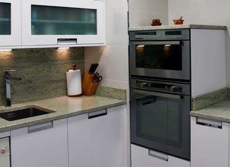mueble de cocina encimera marmol