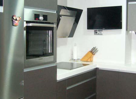 mobiliario de cocina metal sanvi