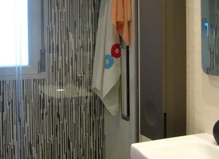 mueble de baño mampara ducha