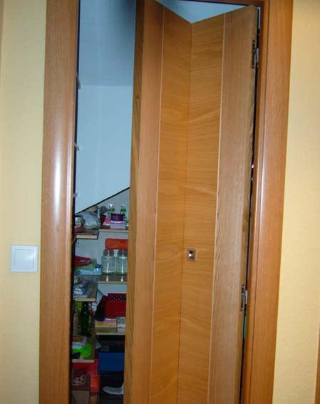 puerta corredera madera despensa