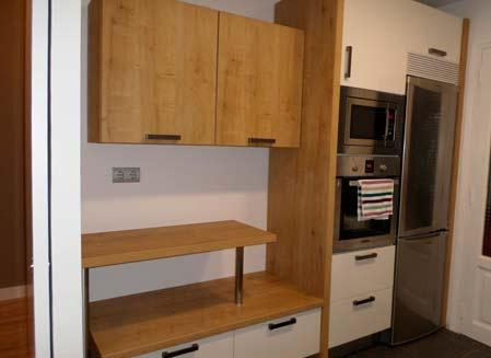 mueble de cocina madera