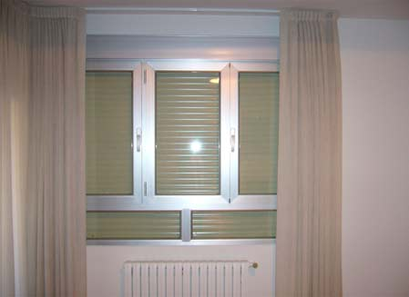 ventana aluminio salón